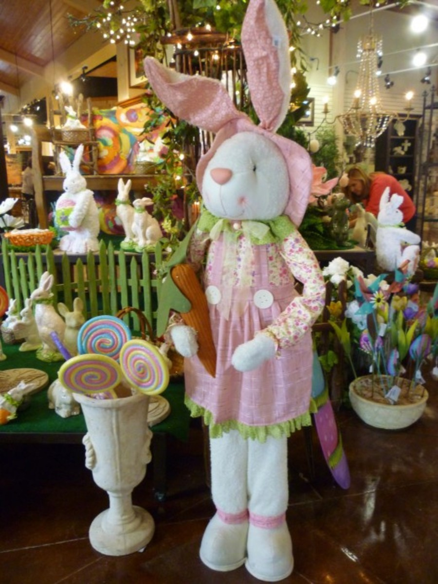 Seasonal Easter decor