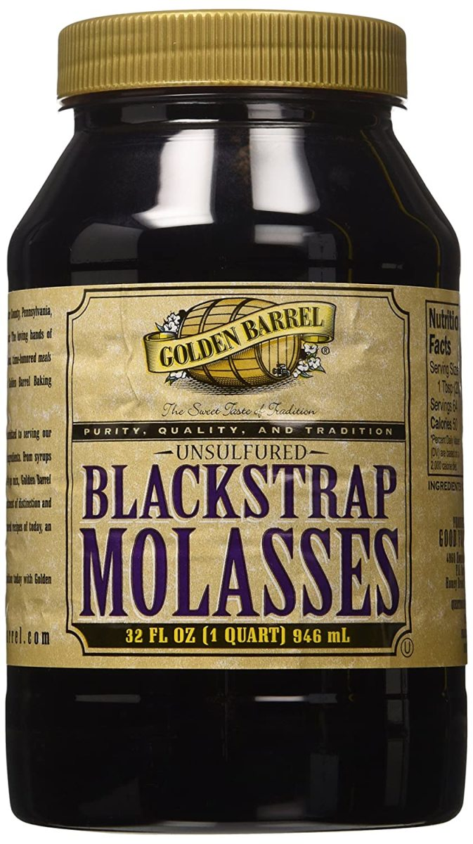 A commercial-based molasses.