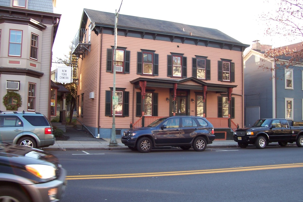 167 Nassau Street was once Parnassus Bookshop