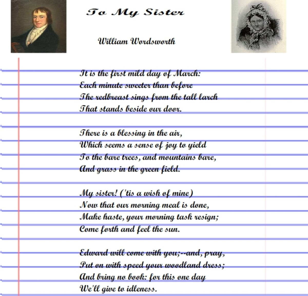 A Poem to Sister