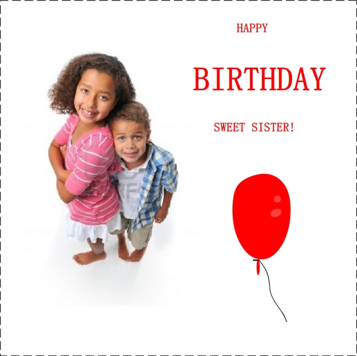 Happy Birthday Poems For Sister