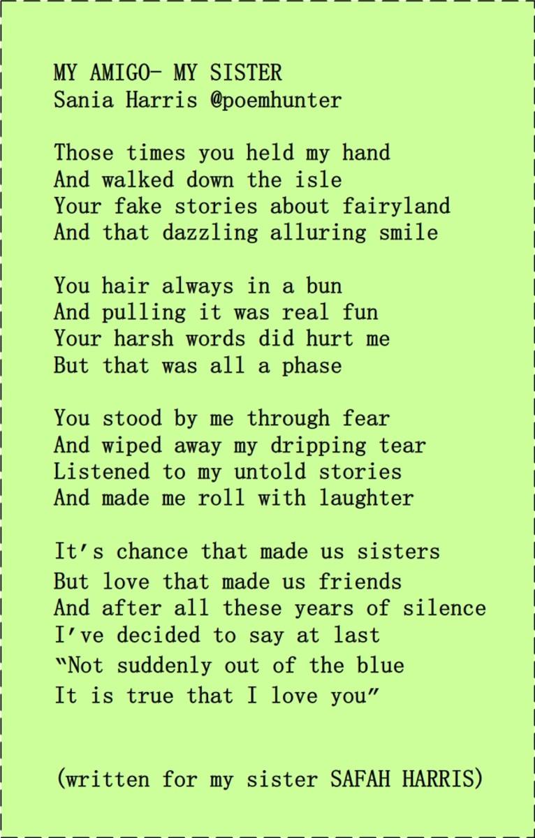 little sister birthday poems - photo #4