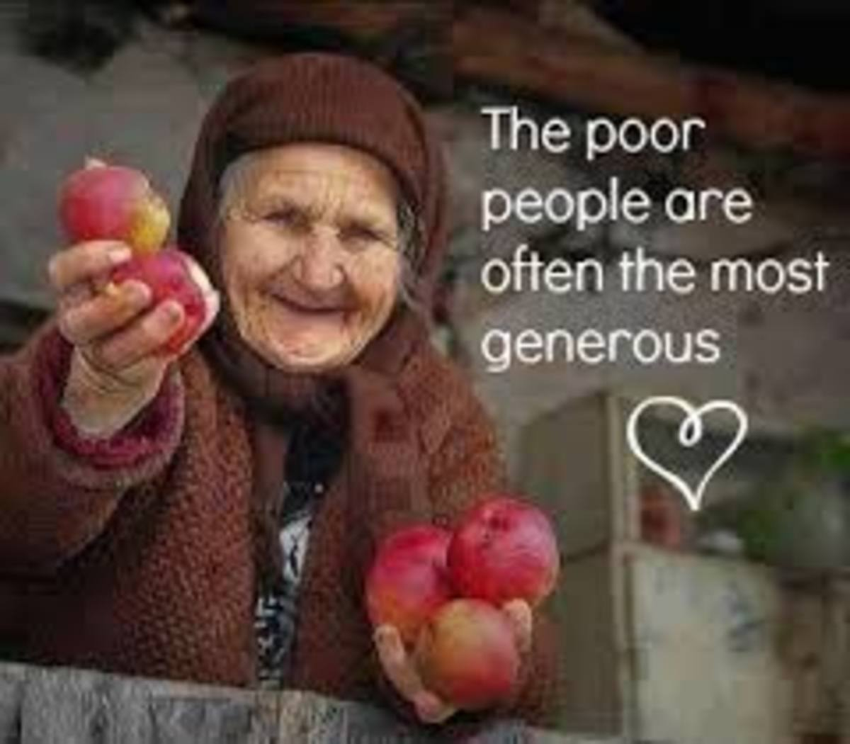 The Poor: The Generous Giver