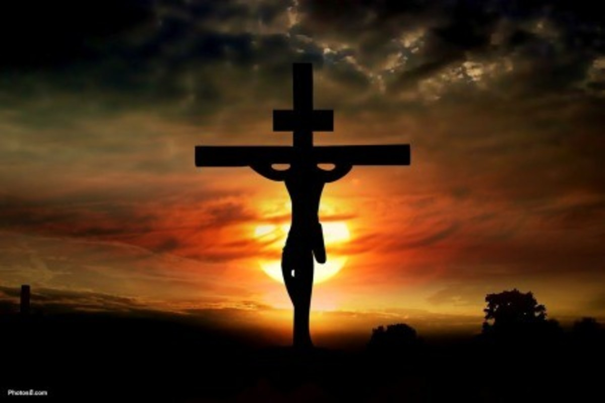 Jesus, the most generous man that ever lived, gave his life to save the world