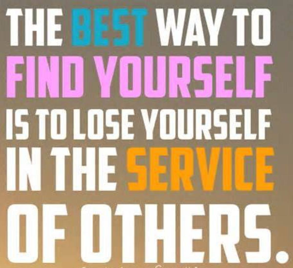 Giving is Serving