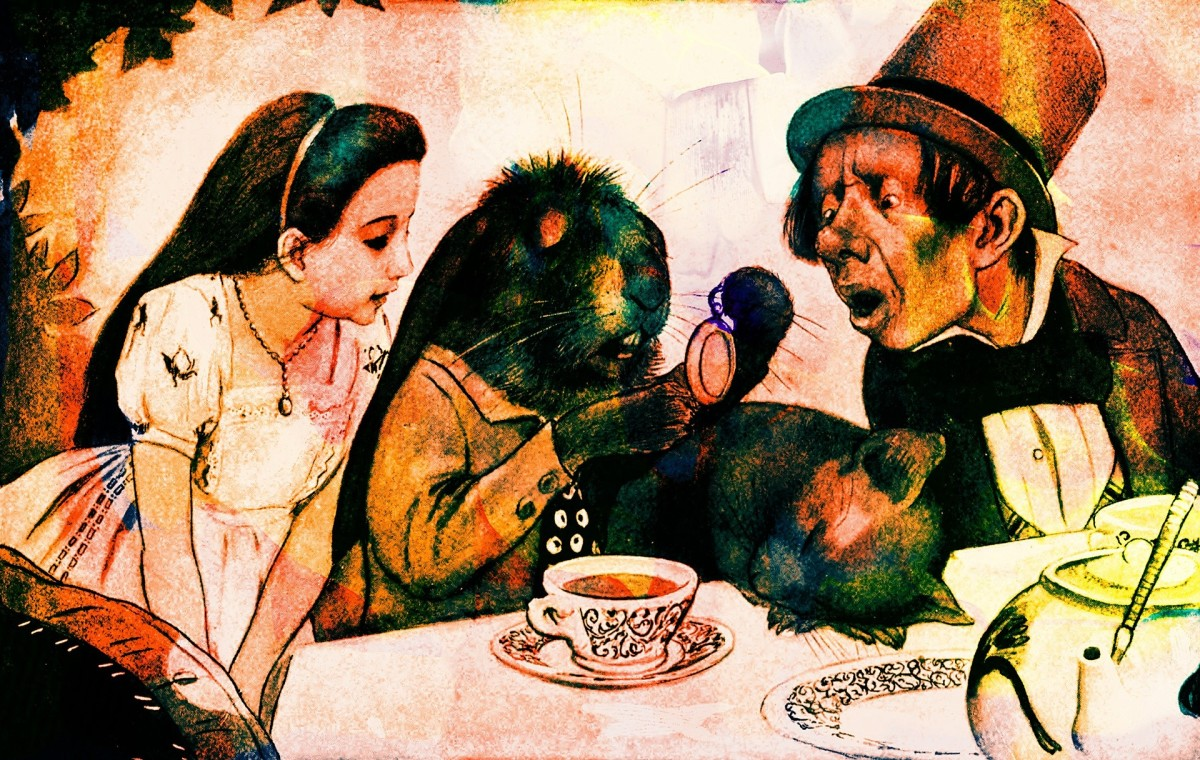 The Mad Hatter's Tea Party: Image by Prawny from Pixabay