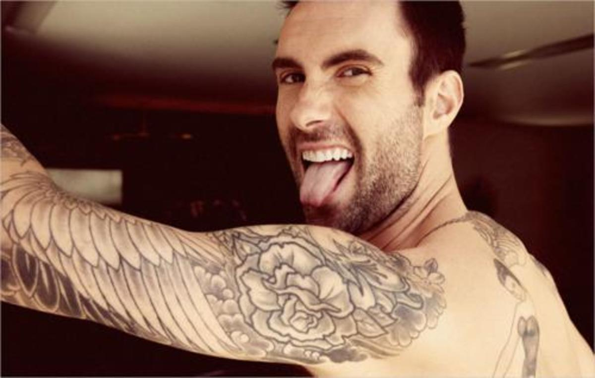 Adam Levine- Yes, I think bad boy!