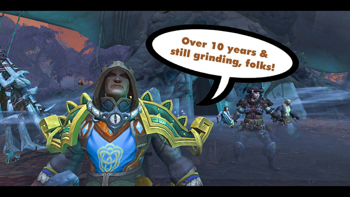 "It's over a decade since my first step into the ""World of Warcraft."""