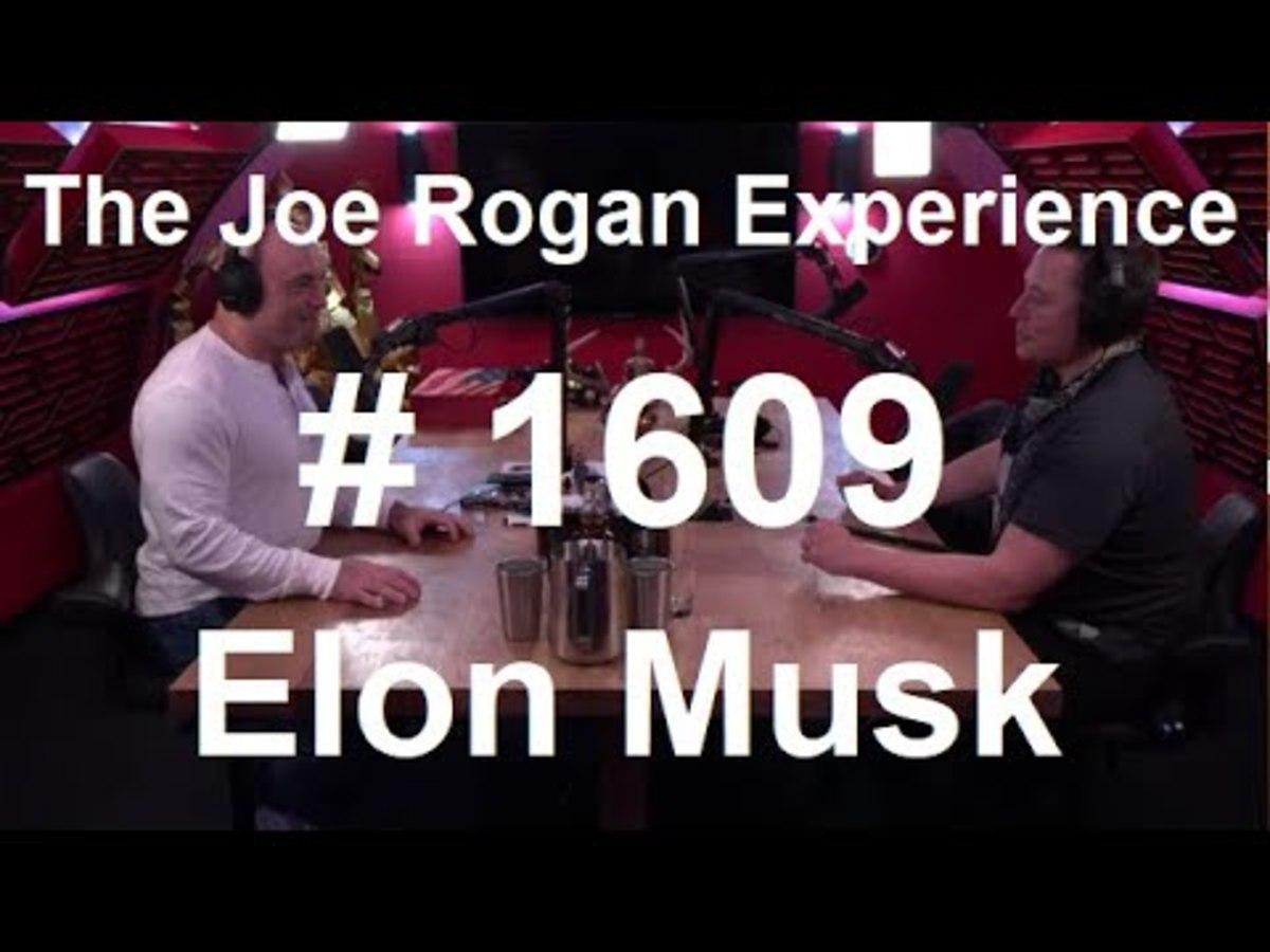 Joe Rogan and Elon Musk