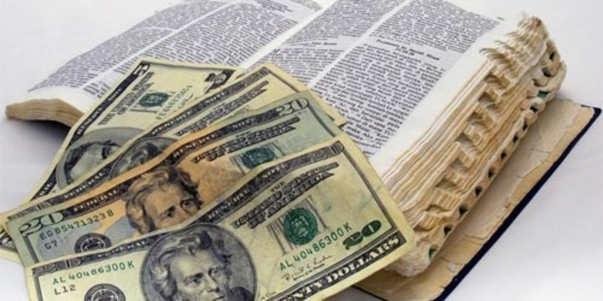 The gospel is not for sale.  You cannot serve both God and money