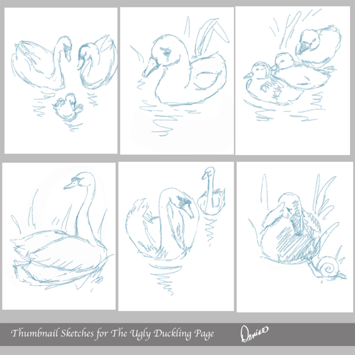 Thumbnails for The Ugly Duckling
