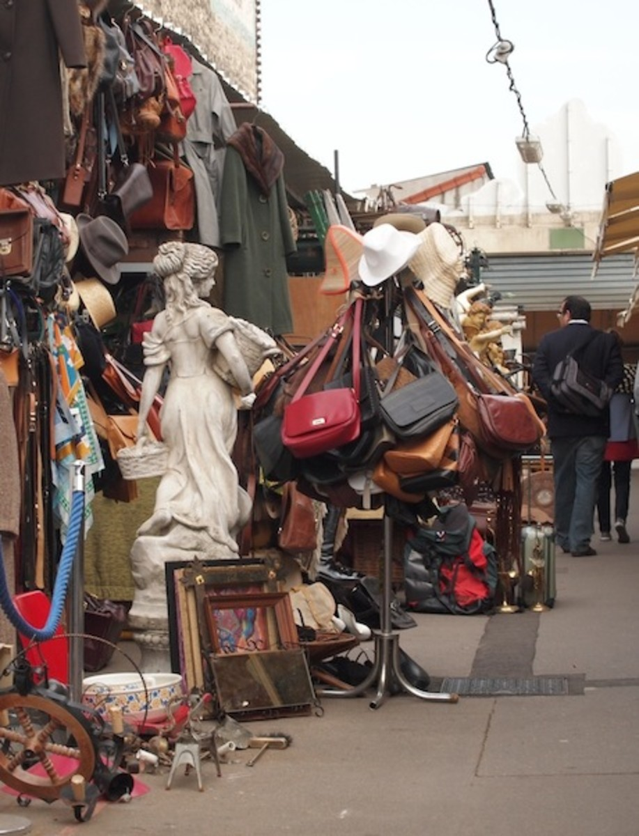 The Insider's Guide to Buying at French Flea Markets
