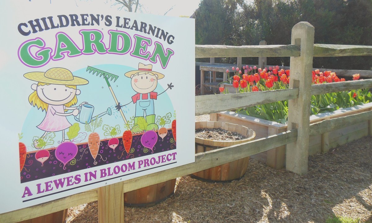 Entrance to the Children's Learning Garden.