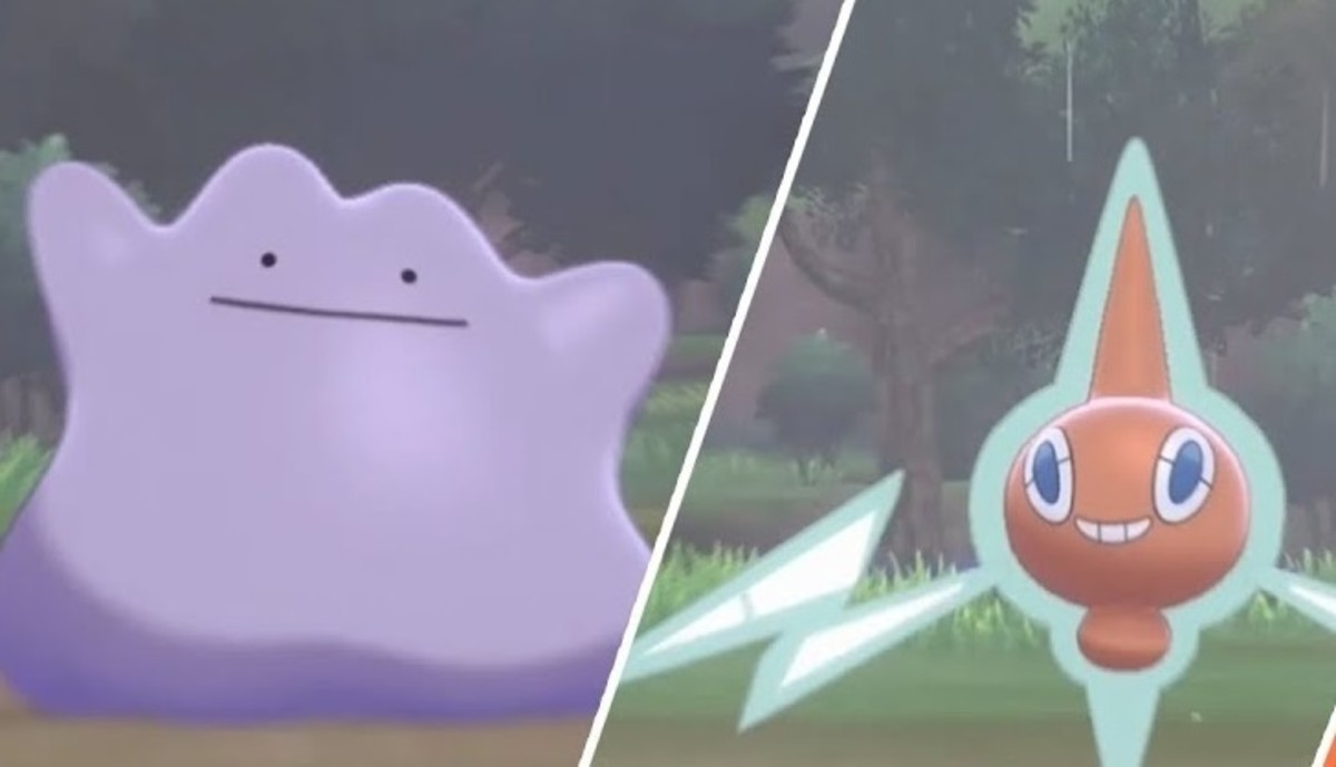 Ditto and Rotom