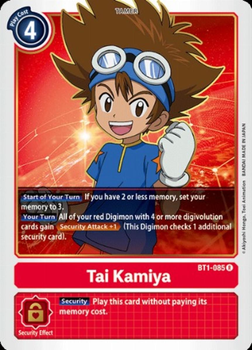 Tai Kamiya tamer card