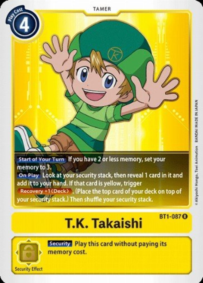 T.K. Takaishi tamer card