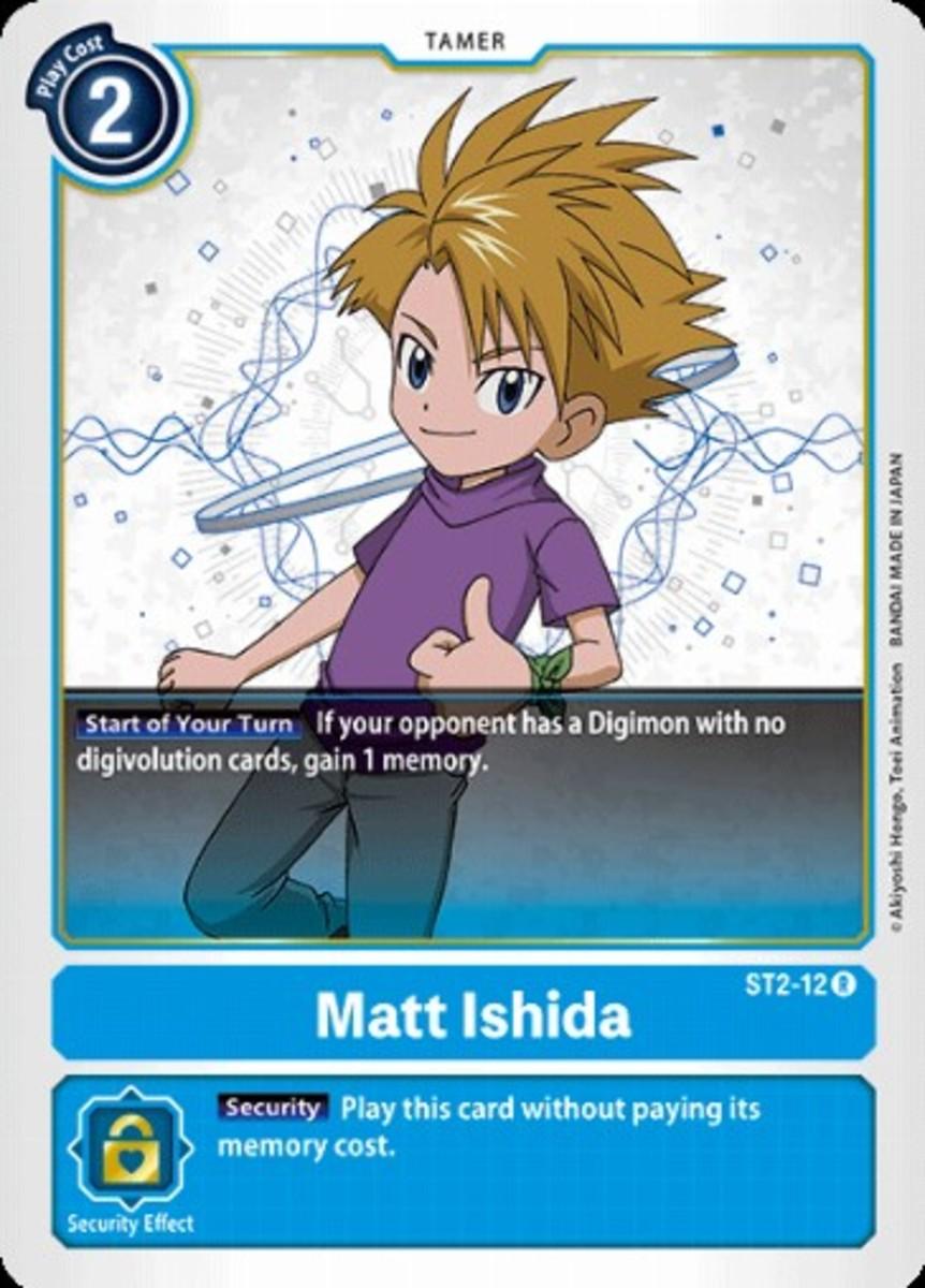 Matt Ishida tamer card