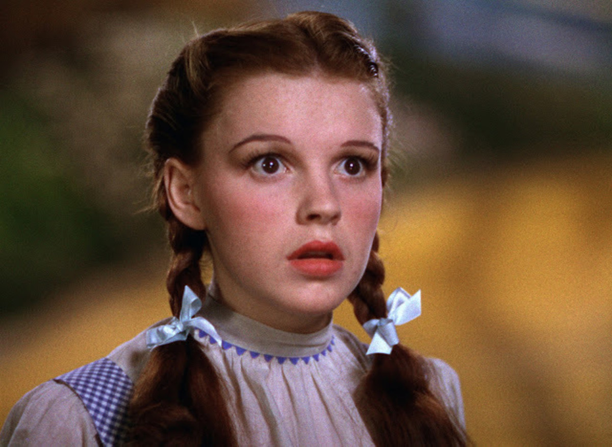 Garland became an instant star overnight as Dorothy and adopted the song Over The Rainbow as her signature tune.