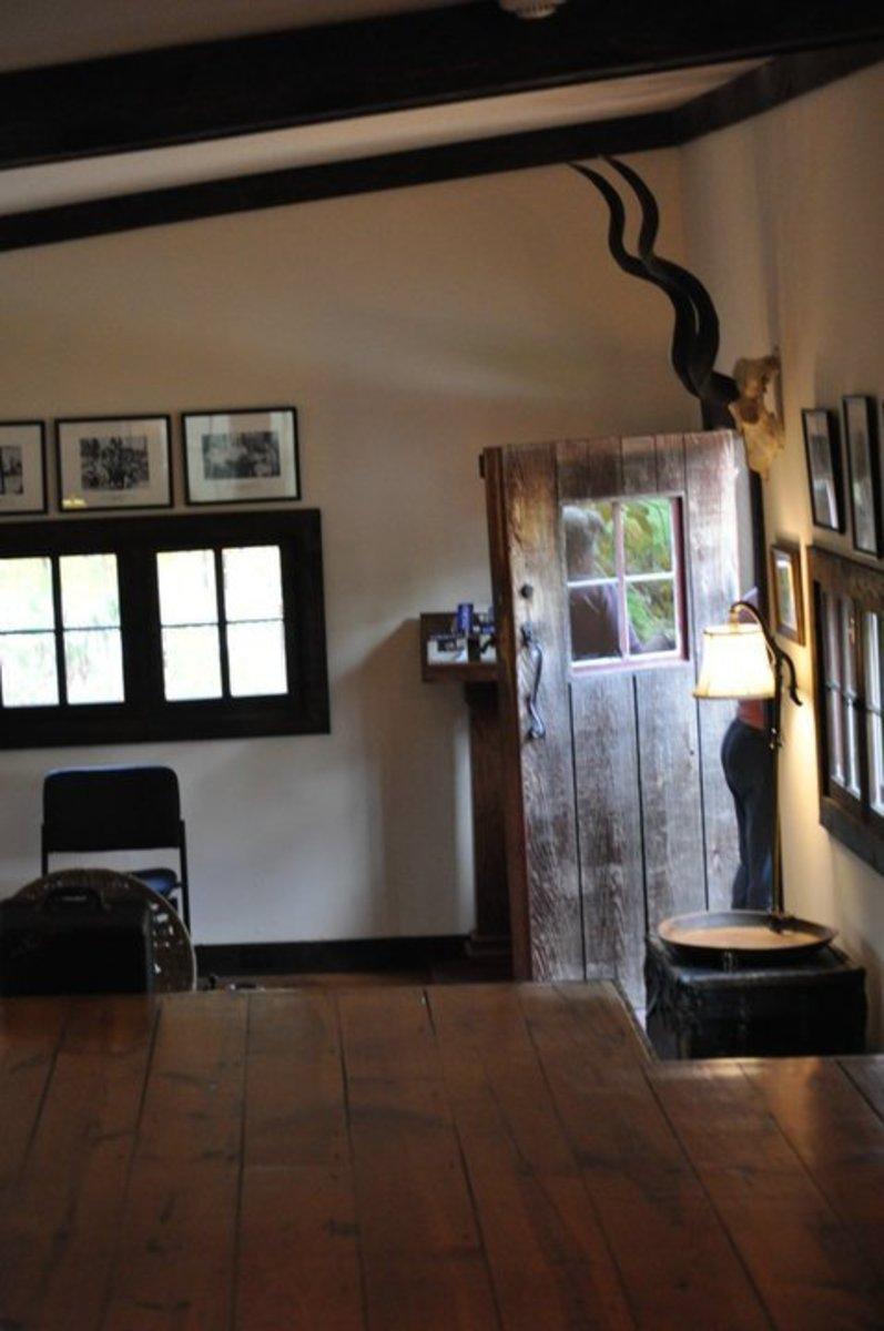 Inside Ernest Hemingway's barn-studio