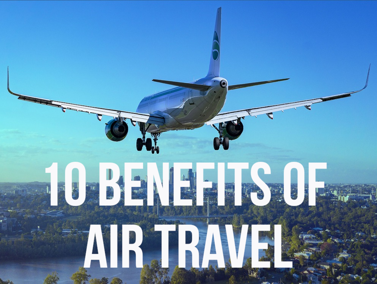 For my 10 advantages of plane travel, please read on...