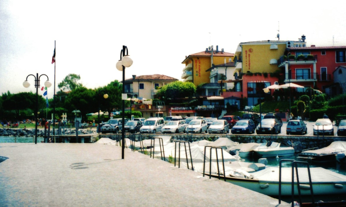 Waterside view in Desenzano del Garda