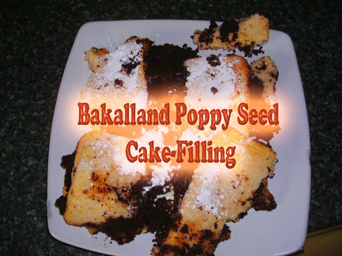 Review and Recipe: How Bakalland Poppy Seed Cake-Filling Saved Me From a Cooking Disaster