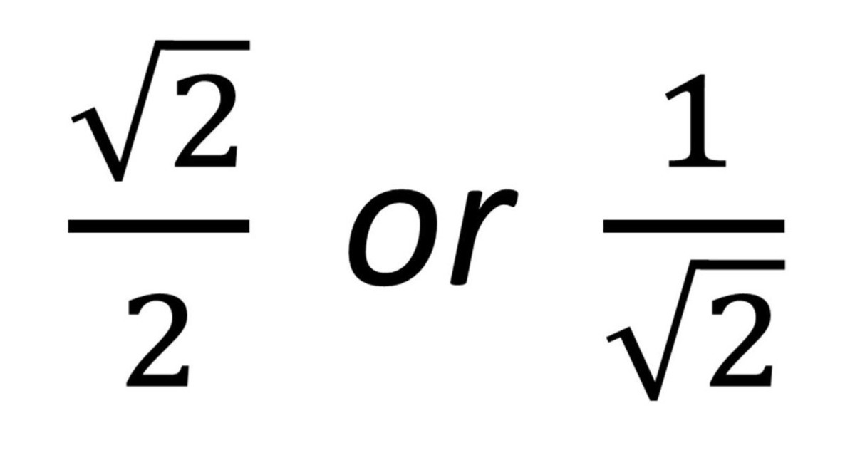 The Same Surd Fraction in Two Different Forms