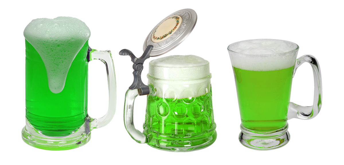 What's St. Patrick's Day without green beer?