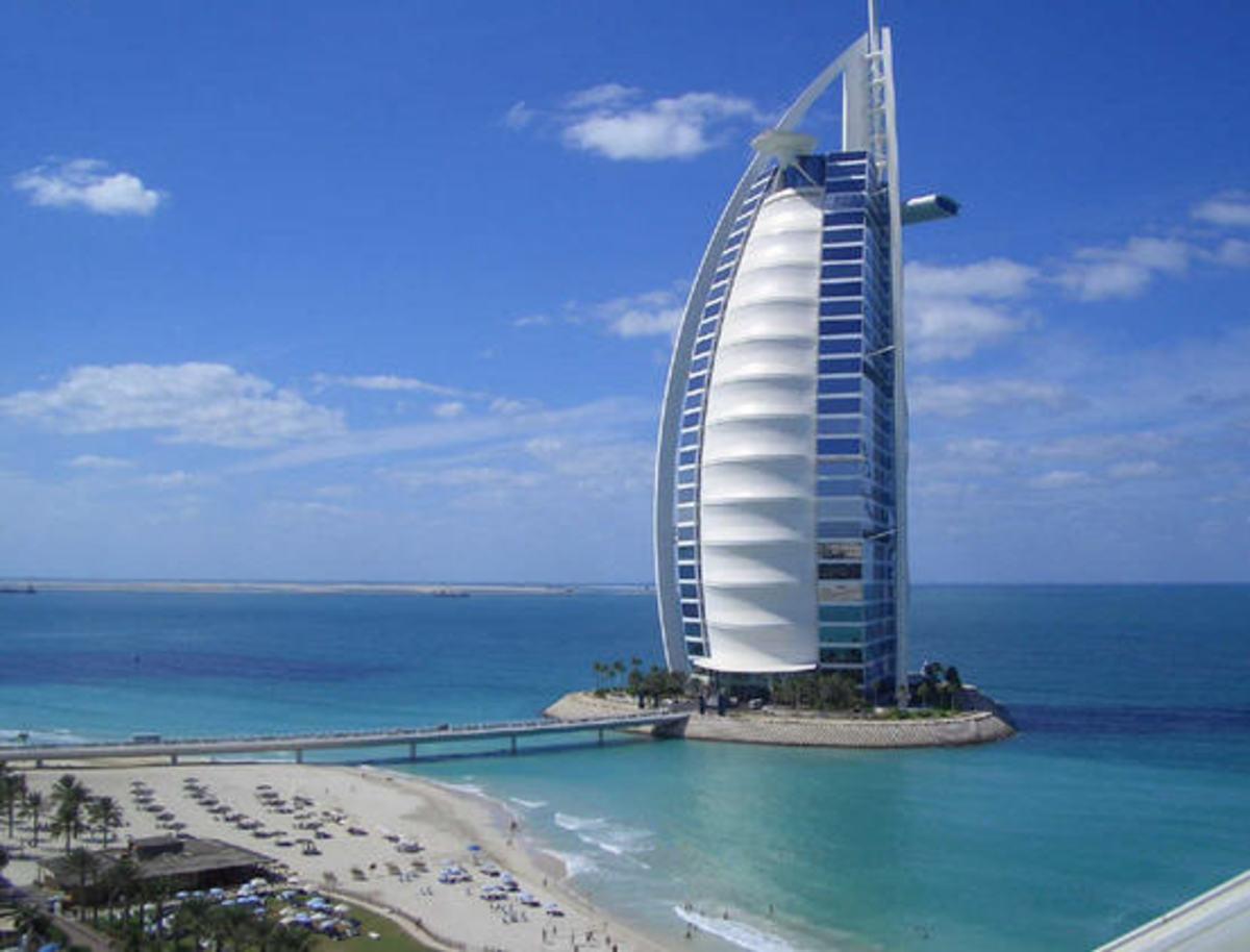 The Burj Al Arab Hotel