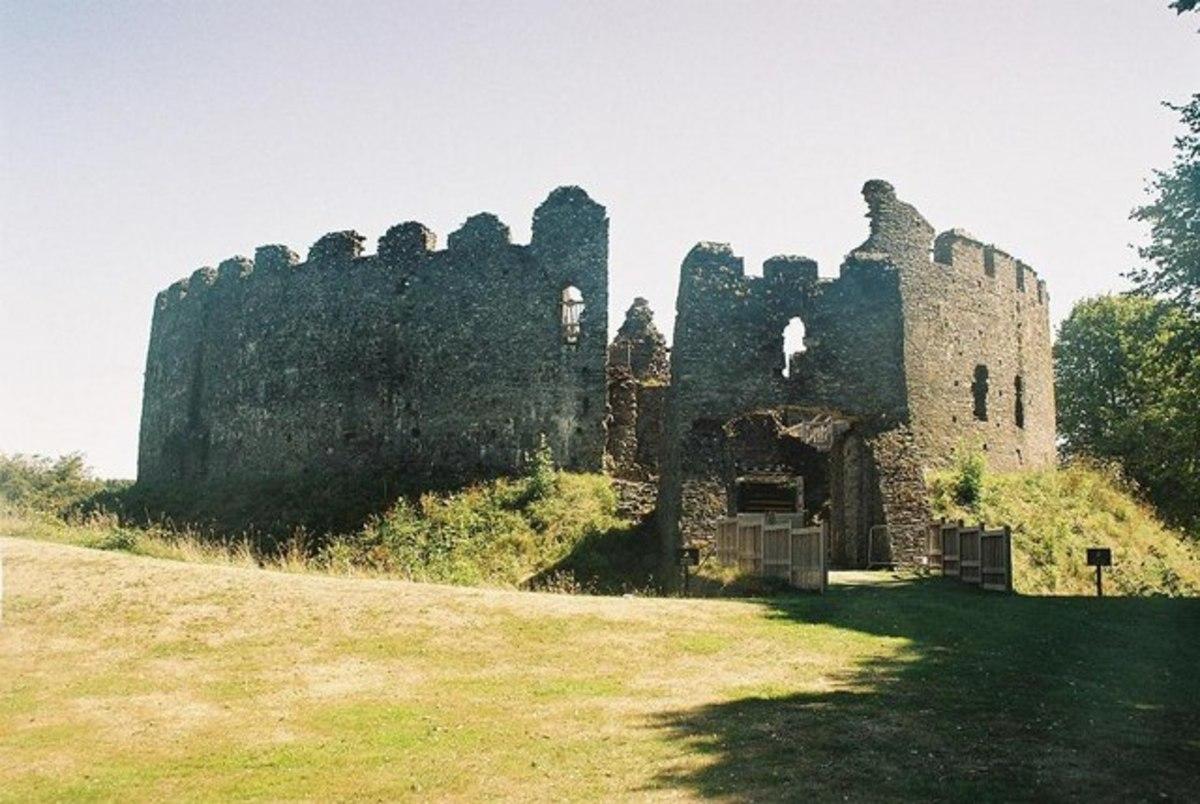 Castles in Cornwall: Restormel Castle, Lostwithiel.
