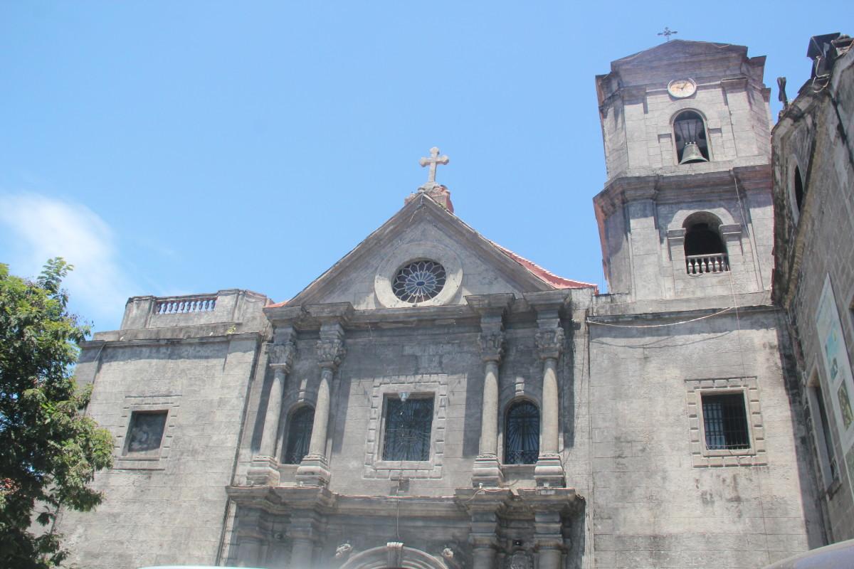 Façade of San Agustin Church (Photo by the author)
