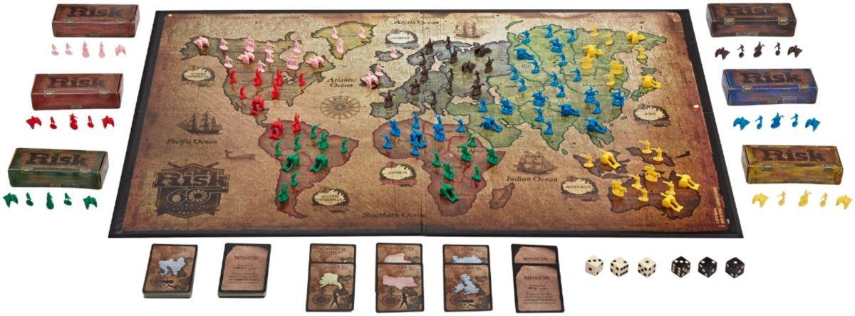 Risk 60th Anniversary Edition Board Game by Hasbro