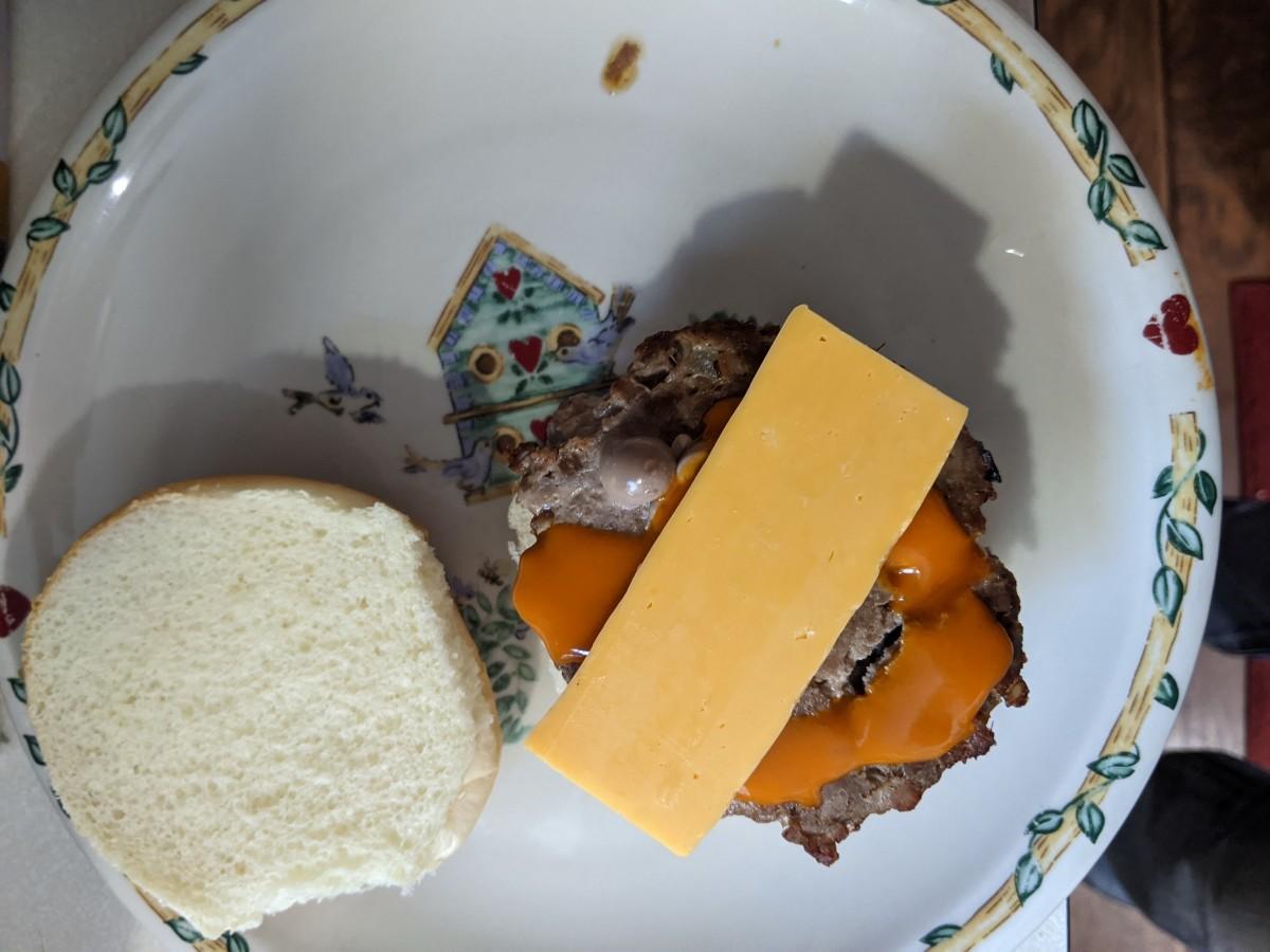 Cheese and buffalo wings sauce