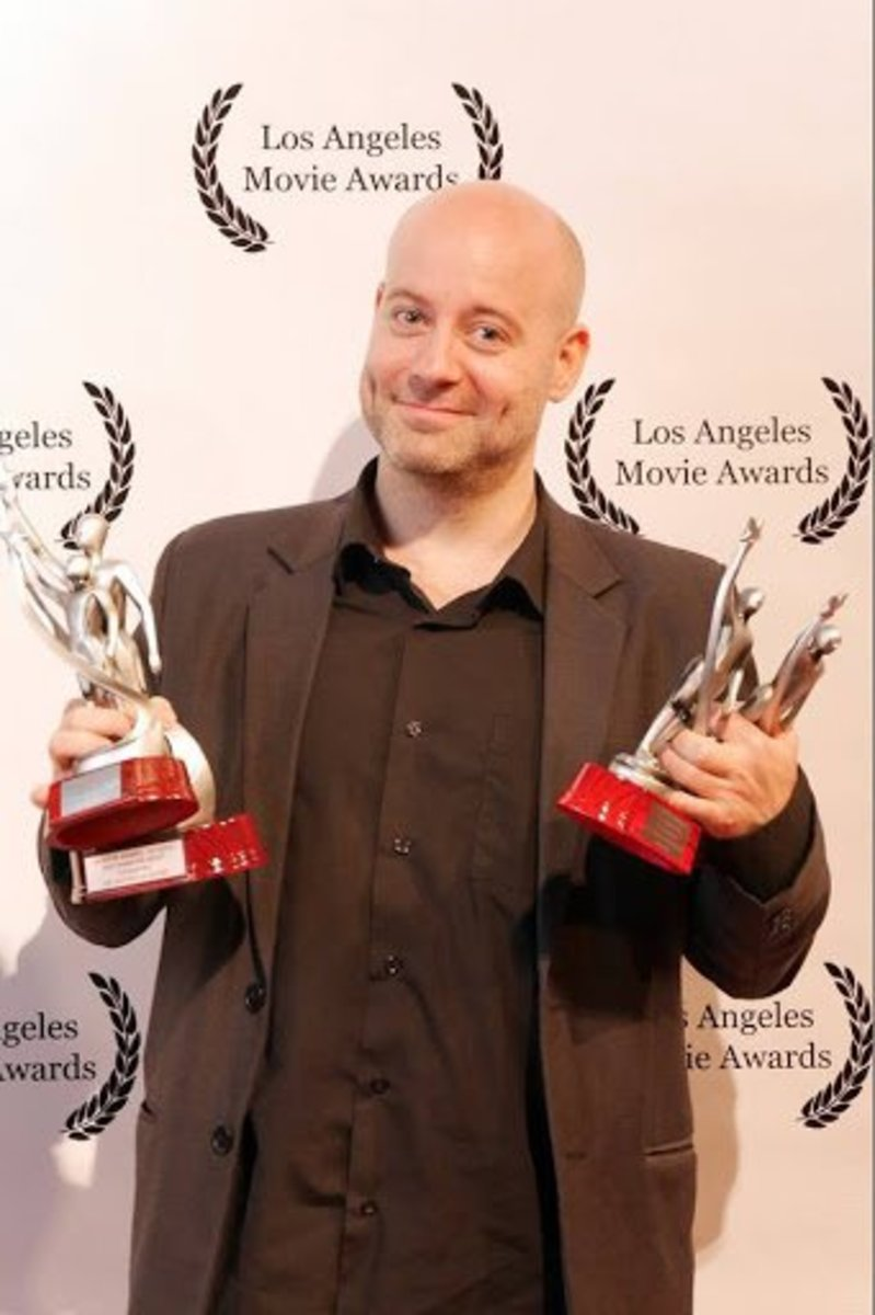 Composer Guy-Roger Duvert winning big at the Los Angeles Movie Awards