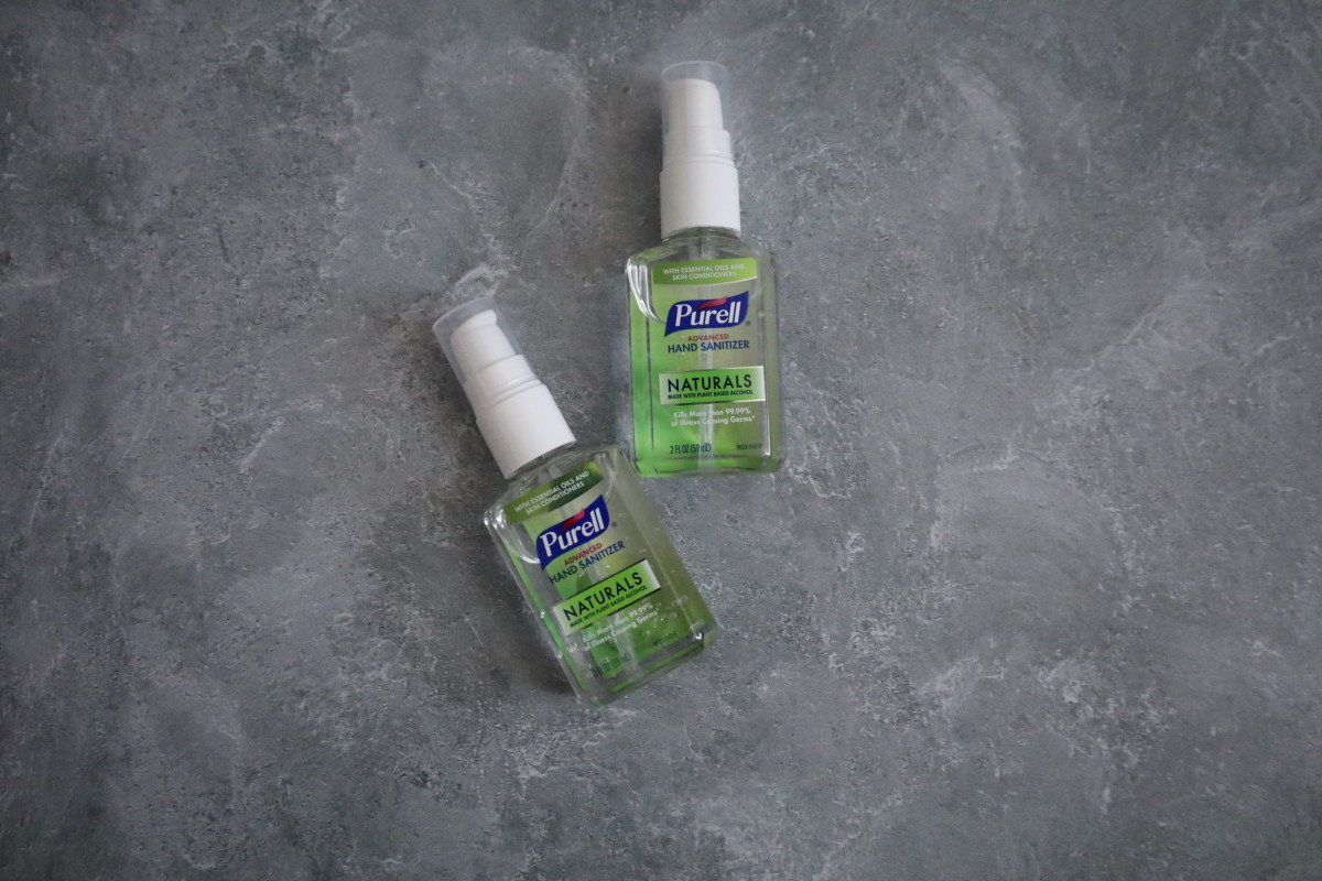 Hand sanitizer is simply a must these days.