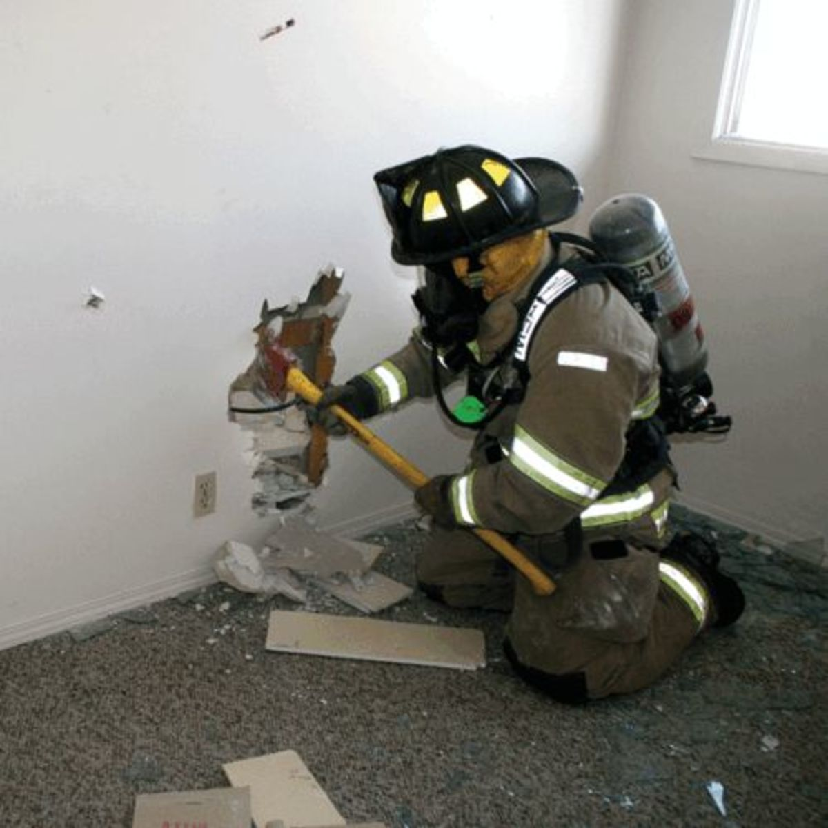 Firefighters must train to gain.
