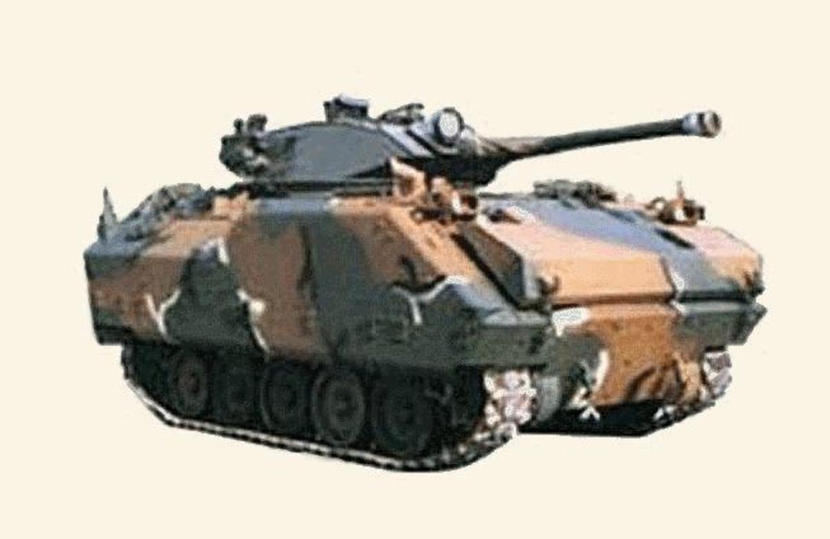 The KAFV 90, an extremely useful skirmisher light reconnaissance tank for South Korea