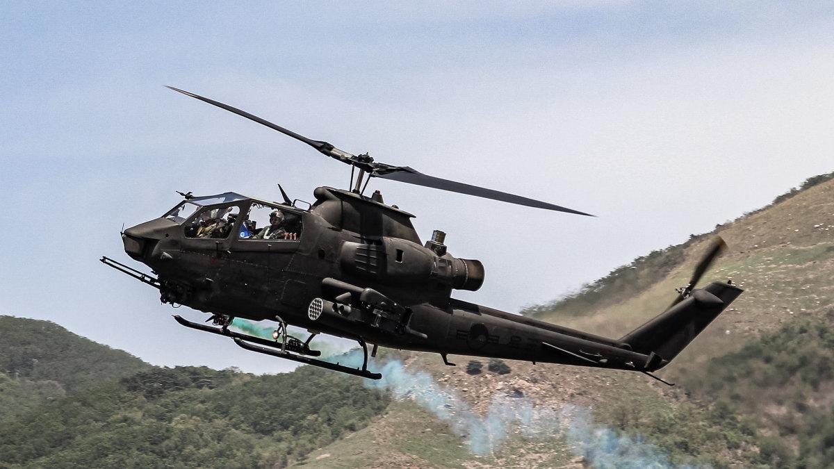 South Korea Cobra helicopter