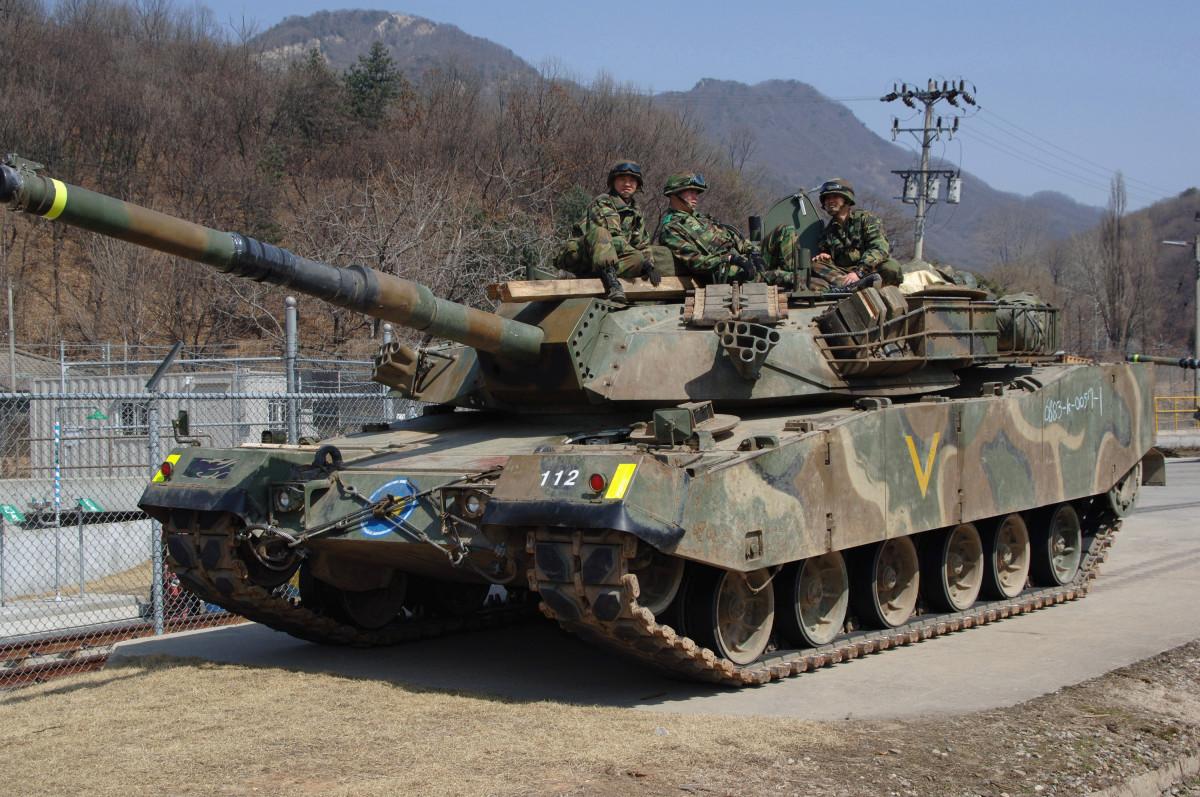 The Korean K1 tank