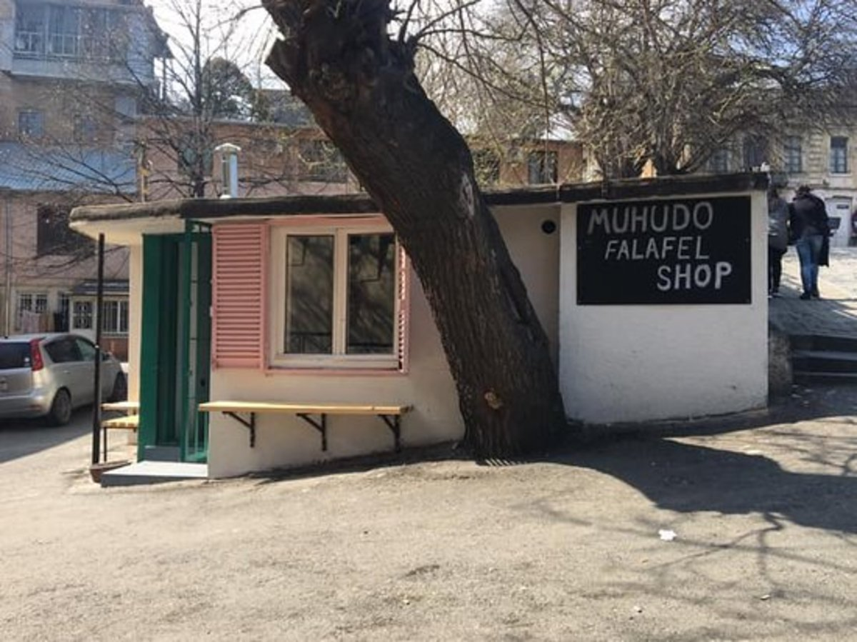 Muhudo serves the best falafel in town