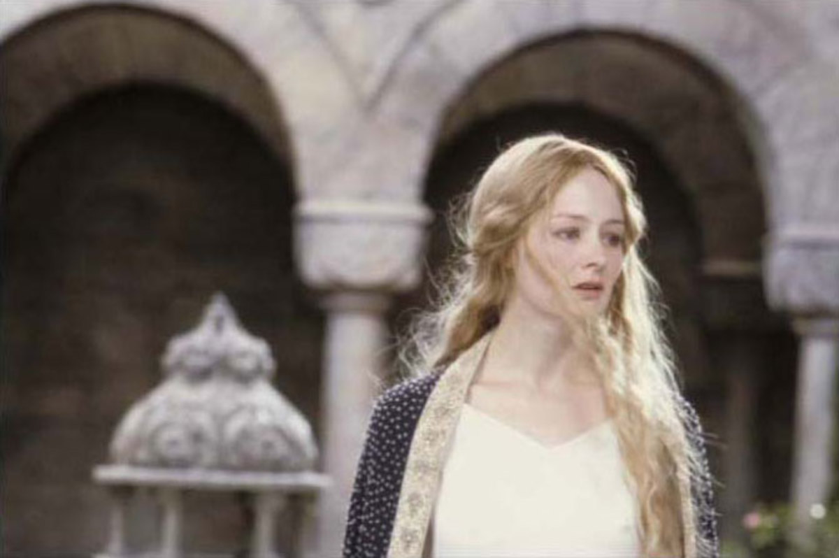 Miranda Otto as Eowyn from Lord of the Rings: Return of the King