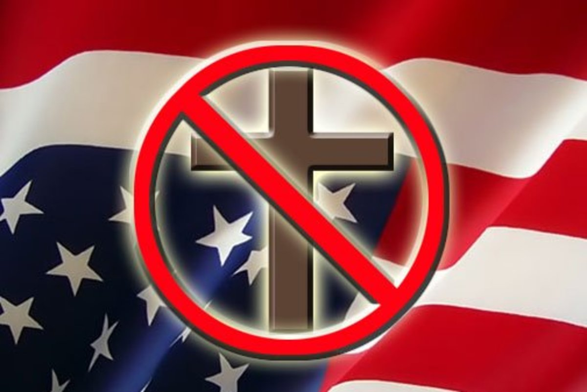 NO CHRISTIANS ALLOWED IN THE PUBLIC SQUARE