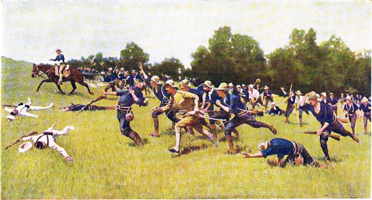 Charge of the Rough Riders at San Juan Hill