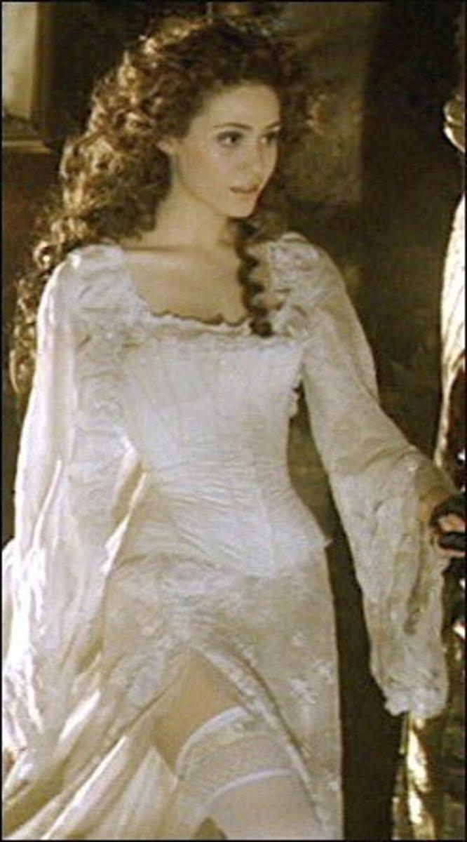 Emmy Rossum as Christine Daae from The Phantom of the Opera