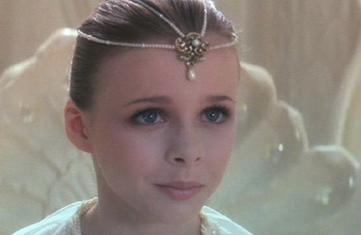 Tami Stronach as Child-like Empress from The Never-Ending Story