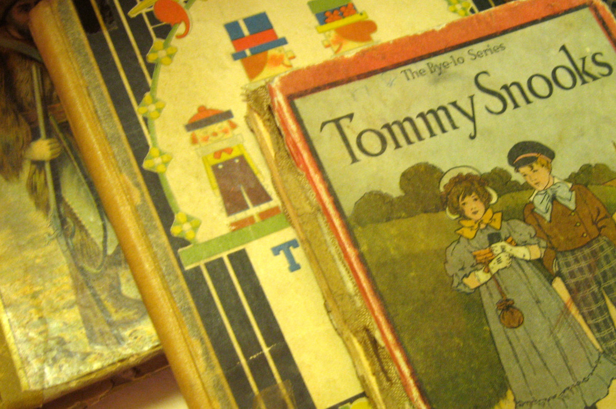 Price vintage books a little higher and feature them as collectibles.
