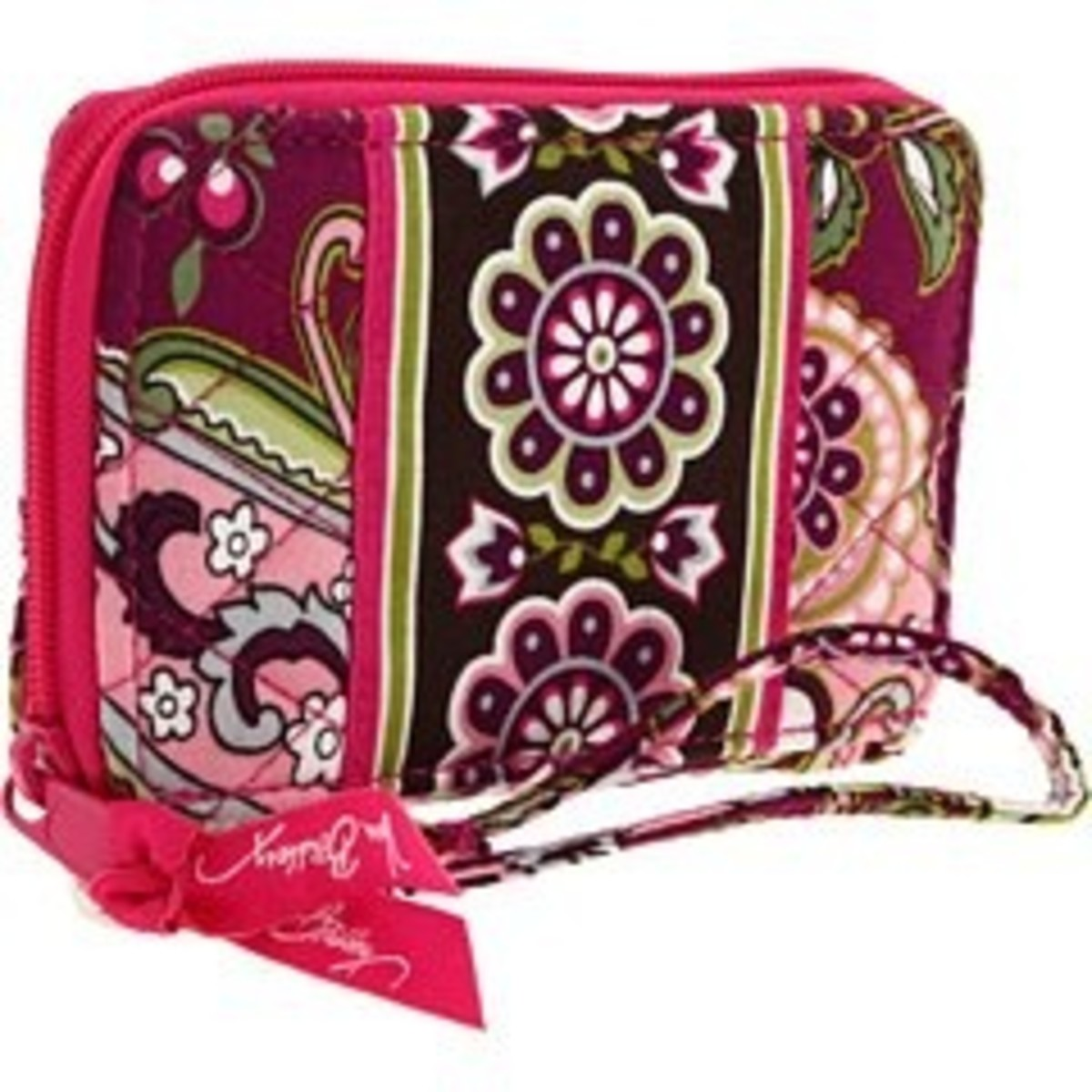 Vera Bradley wristlets come in fun and colorful patterns