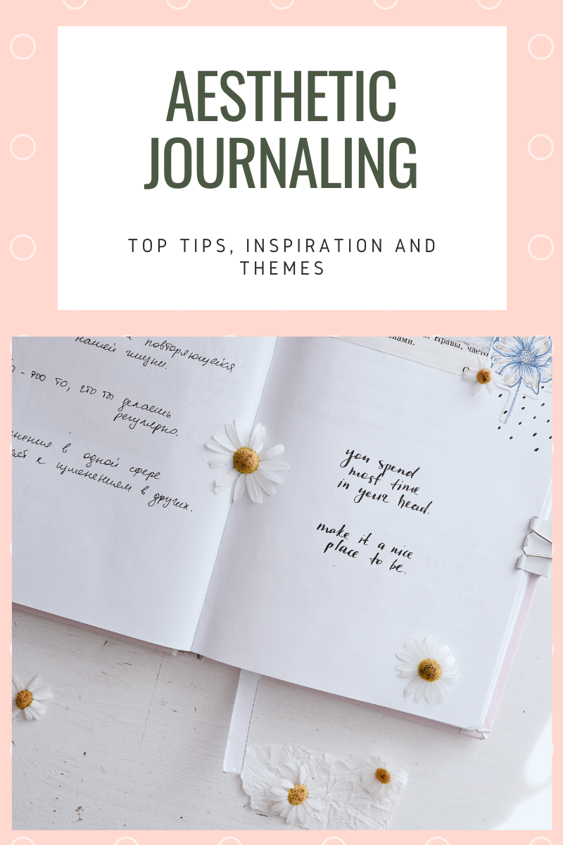 In this guide, we're going to take a look at the best aesthetic journaling techniques!
