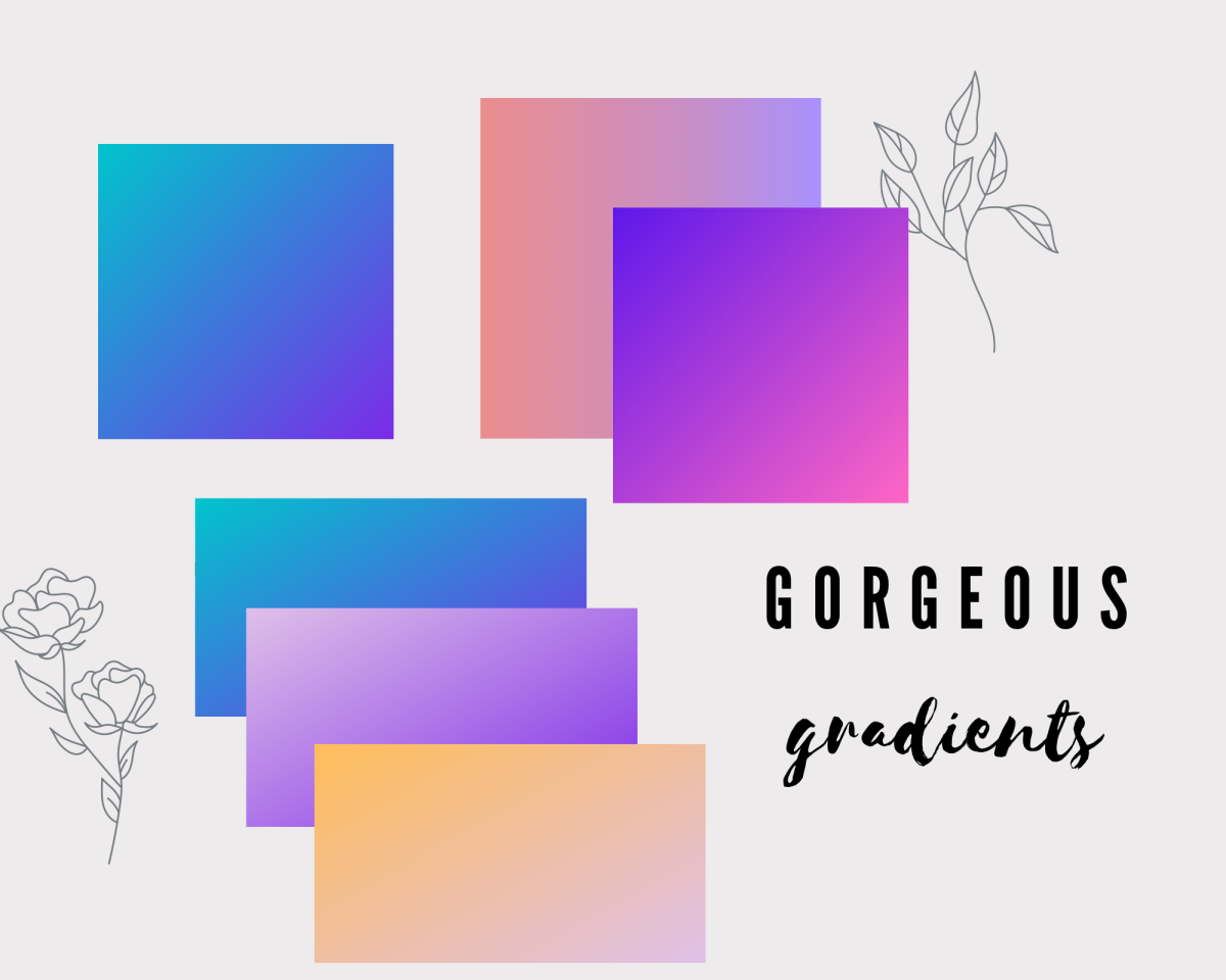 Some lovely gradient ideas for your next journaling session!