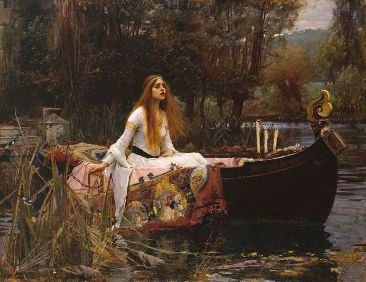 The Lady Of Shallot ~Lord Alfred Tennyson